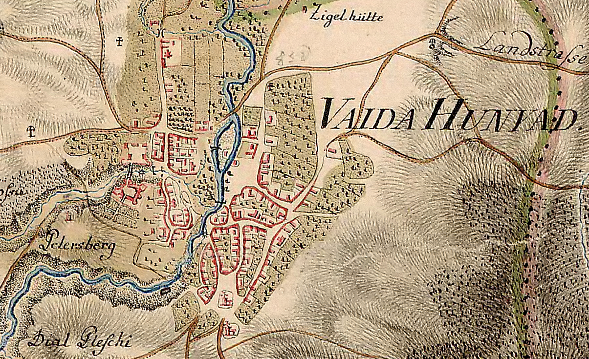 Castelul_Hunedoarei_-_Josephinische_Landesaufnahme_1769-73